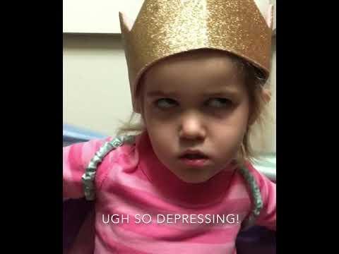 Mila Video Halloween Birthday