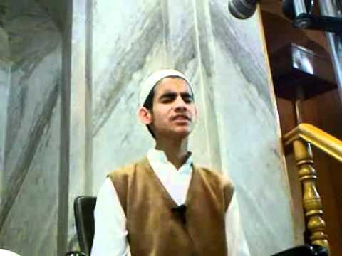Naat(aye rasool e ameen) at Youth Tarbiyah program - Masi ul islam student Dar ul uloom bilaliya