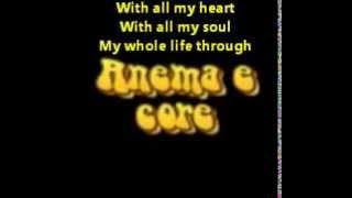 Anema e Core , Michael Bublé , Karaoke