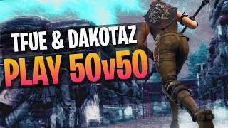 2v20 CLUTCH w/ Dakotaz! 50v50 v2 Gameplay (Fortnite Battle Royale)