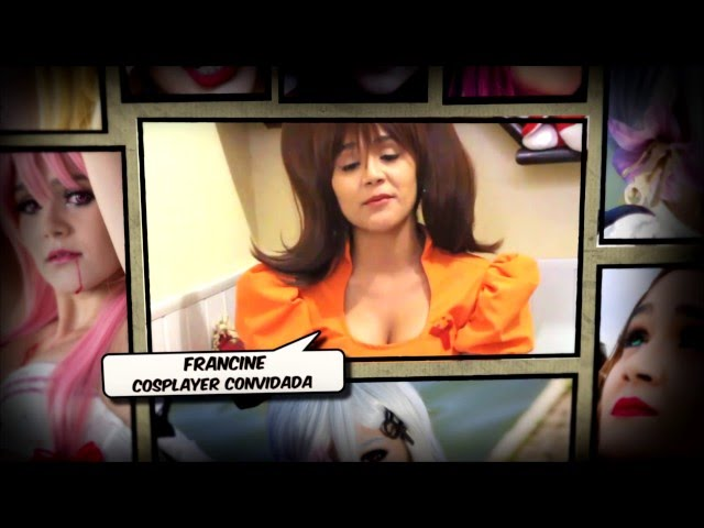 Convite da Francine Cosplayer para o CATSU 2016