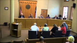 Titus County Texas Commissioner's Court held November 11th, 2013