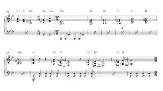 Genesis - Return of the Giant Hogweed - Piano Sheet Music + PDF