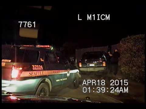 Seattle Police, speeding car at 13:10