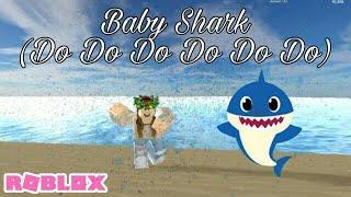 Tiburón bebé: Roblox Music Video // Simulador de vehículo // Collab con Homie caT