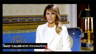 First Lady Melania Trump Urges Americans To Turn To Their Faith During The Coronavirus