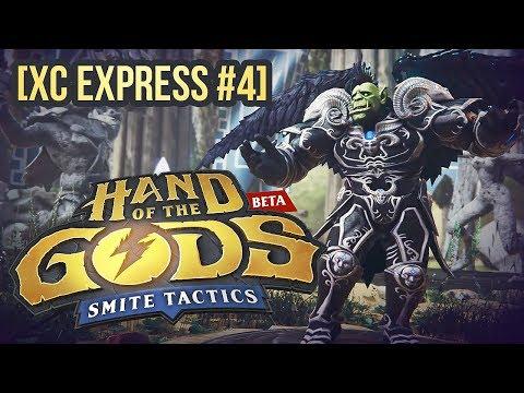 видео: [ХС express #4] Обзор hand of the gods: smite tactics