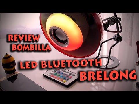 review bombilla led Bluetooth BRELONG