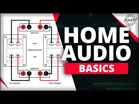 How to Bi-Amp and Bi-Wire Your Speakers | Home Audio Basics