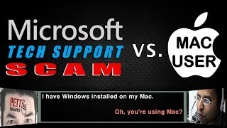 Windows Tech Support Scam gets Owned by Mac User thumbnail