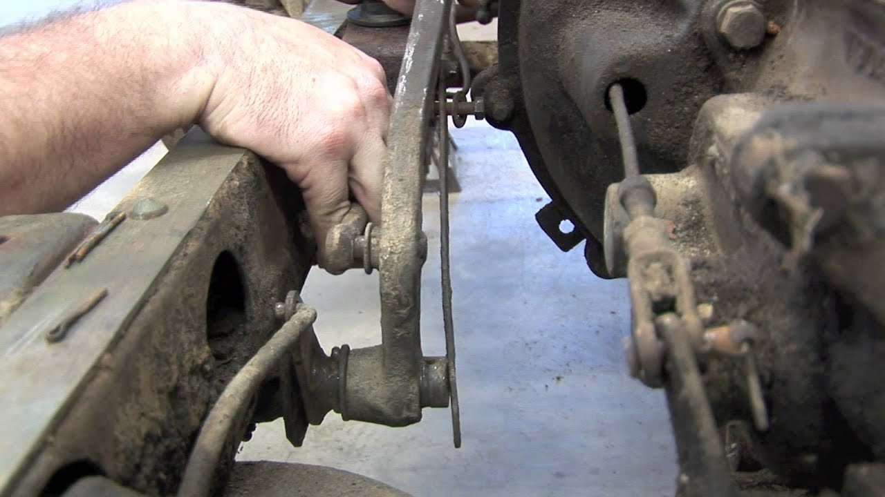 Build Your Willys Master Cylinder Removal Youtube