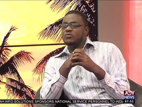 Graduate Unemployment - My Banner on Joy News (5-9-16)