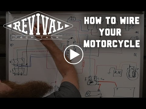 Shovelhead Chopper Wiring Diagram Of A Three Way Switch How To Wire Your Motorcycle Revival Cycles Tech Talk Youtube