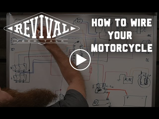 How to Wire Your Motorcycle - Revival Cycles' Tech Talk - YouTubeYouTube