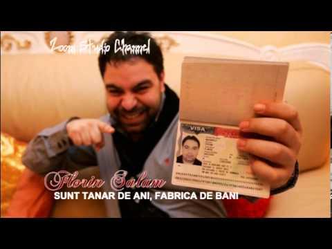 FLORIN SALAM - SUNT TANAR DE ANI, FABRICA DE BANI, ZOOM STUDIO