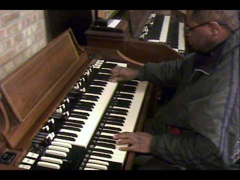 Chicago Blues by Carl Harris on a Hammond A-100