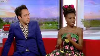 that girl noisettes bbc breakfast 29th august 2012