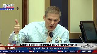 MUST WATCH: Rep. Jim Jordan BLASTS A.G. Rosenstein Over FBI Bias Allegations Against Trump (FNN)