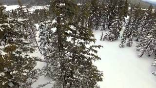 Aerial Video at Mt. Bachelor Filmed with XP2 Quadcopter and GoPro HD