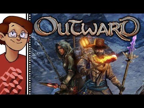 Let's Try Outward - Hardcore Open World Survival Co-op RPG