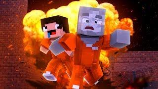 AUSBRECHEN AUS DER SCHULE! (Minecraft Ausbruch)