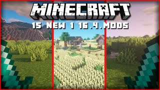 Top 15 New Minecraft Mods Dual Wielding Slingshots Leaves 1 16 4 Fabric Forge Youtube