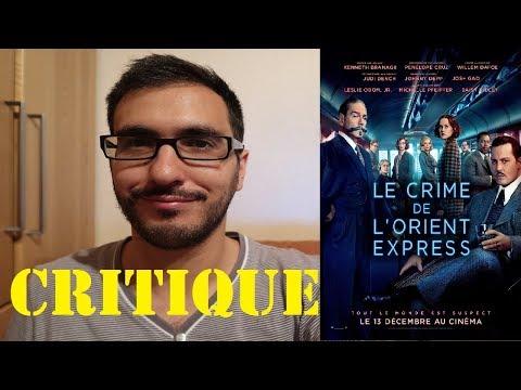 🚂 LE CRIME DE L'ORIENT-EXPRESS 🚂 CRITIQUE POST-PROJECTION