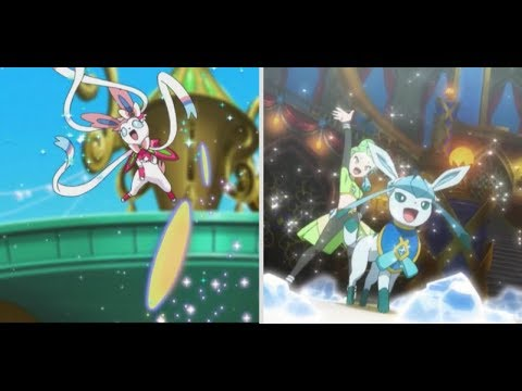 Sylveon and Glaceon AMV - Cherry Gum