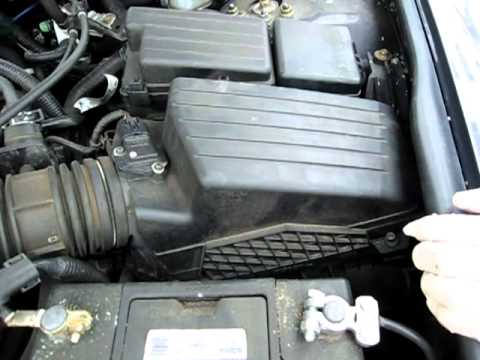 High Quality 2003 2007 Honda Accord Engine Air Filter Replacement   YouTube