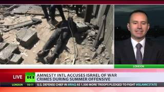 Amnesty accuses Israel of war crimes, Foreign Affairs Min calls it