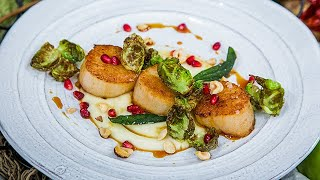 Sautéed Scallops with Cider Gastrique - Home & Family