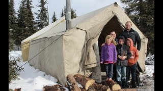 Winter Camping, Taking tнe Family Camping.