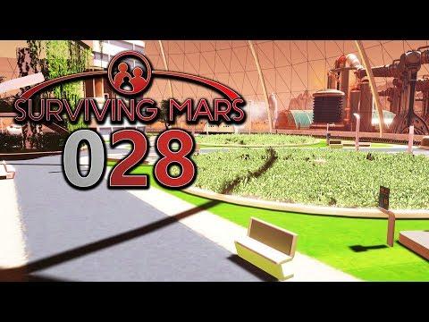 SURVIVING MARS 🌖 [028] Alles für Nahrung 🌘 Let's Play Surviving Mars deutsch