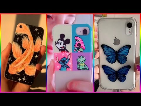 Tik Tok Painting On Phone Cases Compilation 2019 #4