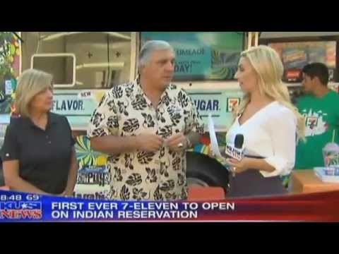 KUSI News: First Ever 7-Eleven to Open on an Indian Reservation