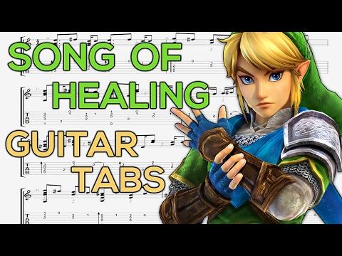 The Legend of Zelda: Majora's Mask - Song of Healing Guitar Tutorial | Guitar Lesson + TABS
