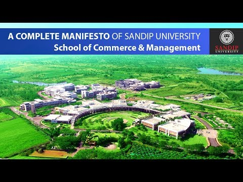 School of Commerce and Management - Sandip University - 2018