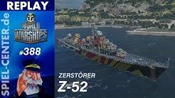 World of Warships Replay #389: Z-52 [ Hydro kann eine Waffe sein ]