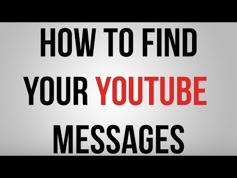 How To Find YouTube Inbox YouTube Messages 2015