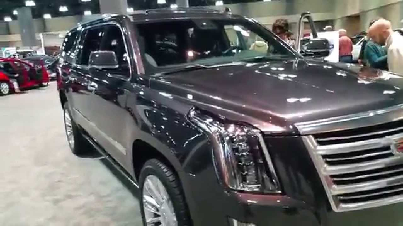 2016 cadillac escalade esv 4wd platinum youtube. Black Bedroom Furniture Sets. Home Design Ideas