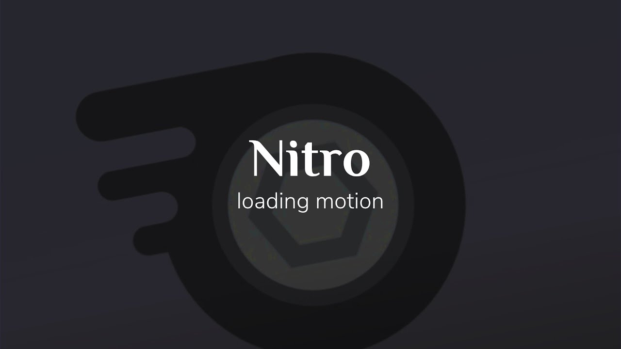 Discord Nitro Loading Animation