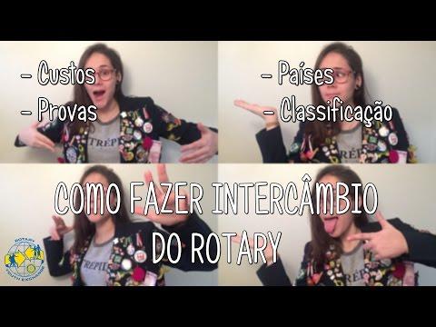COMO FAZER INTERCÂMBIO DO ROTARY