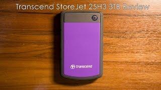 Transcend StoreJet 25H3 3TB Review | Benchmark thumbnail