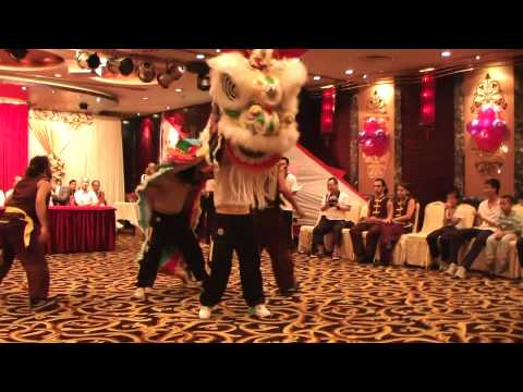 Human Mobile Stage 54B, 2010 Chau Lung Annual Banquet, Lion Dance, Kung Fu Travel Video