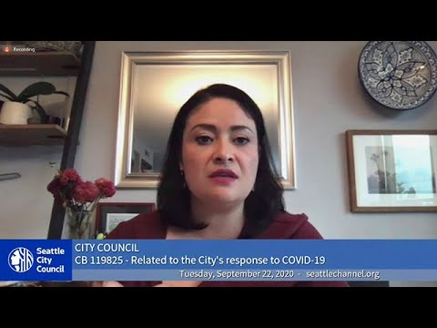 Download Seattle City Council Special Meeting 9/22/2020