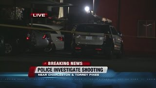 Police Investigate Shooting Near Charleston, Torrey Pines