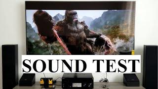 SONY STR-DN1080 CINEMATIC Sound Test 7.1 Surround Sound System