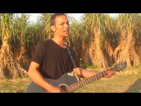 chole gecho tate ki   amazing guitar Cover and vocal of Manik