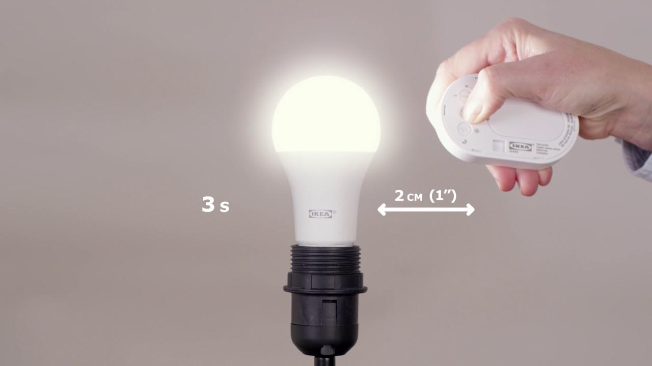 IKEA - Zo koppel je een lichtbron aan je TRÅDFRI bewegingssensor ...
