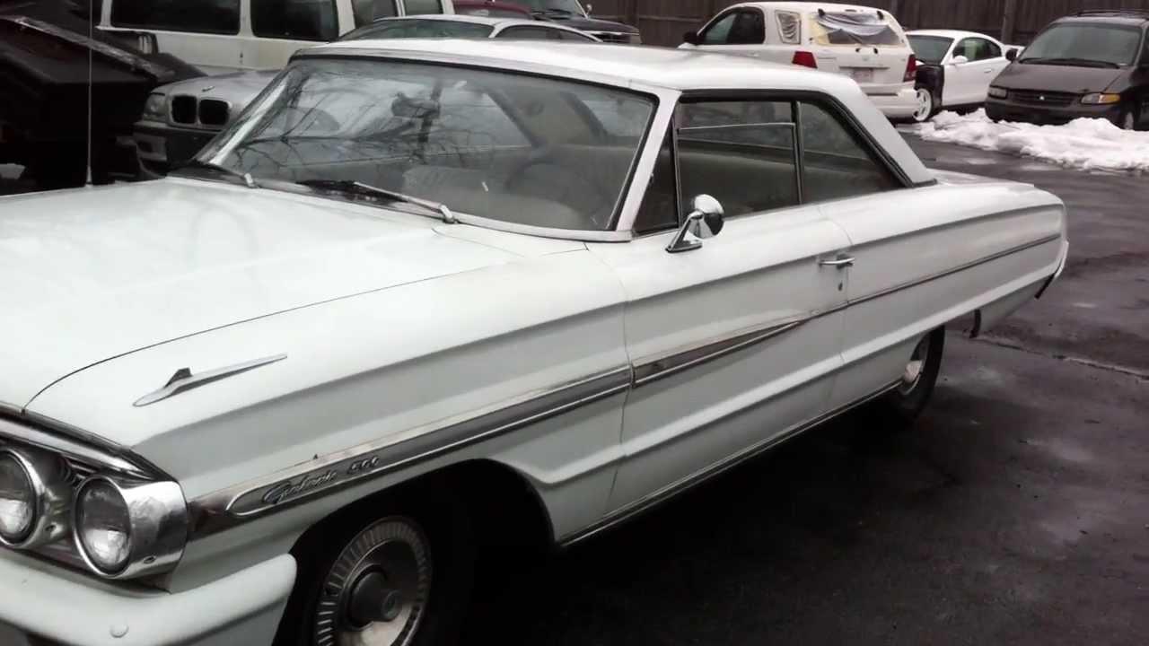1963 ford galaxie 289 - 1964 Ford Galaxie 500 289 Auto Cool Old Survivor